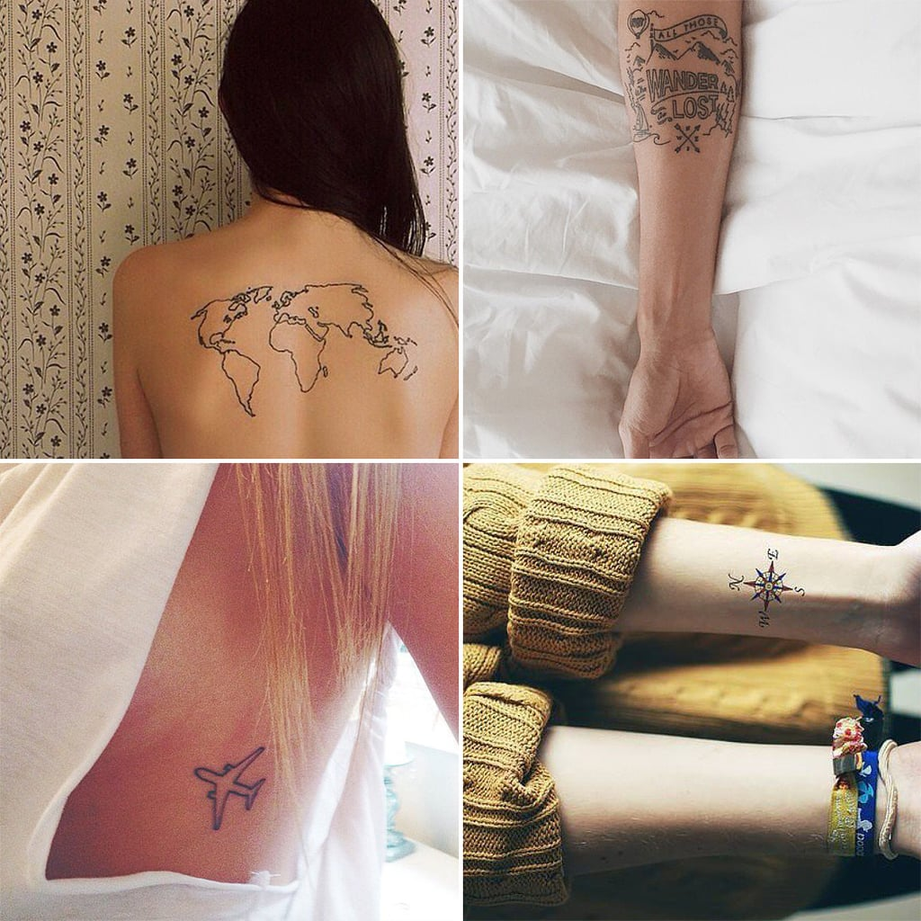 Travel Inspired Tattoos From Instagram