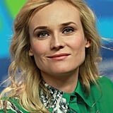 Diane Kruger looked gorgeous in 10 Crosby by Derek Lam in Berlin.