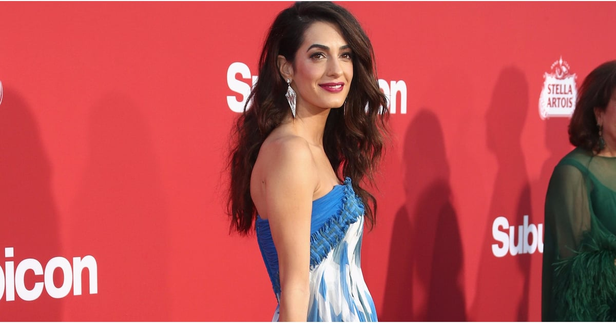 You'll Love to Watch Amal Clooney Leave When She's in This Goddess Gown