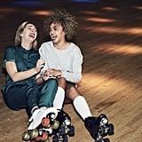 Rollerblade together or go to a roller skating rink.