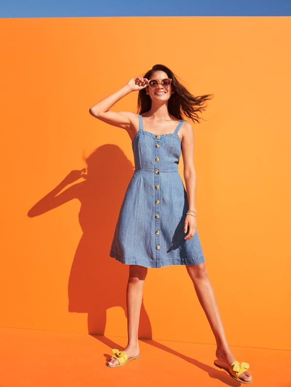 The Chambray Button-Down Dress