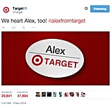 Target Totally Boarded the #AlexFromTarget Train