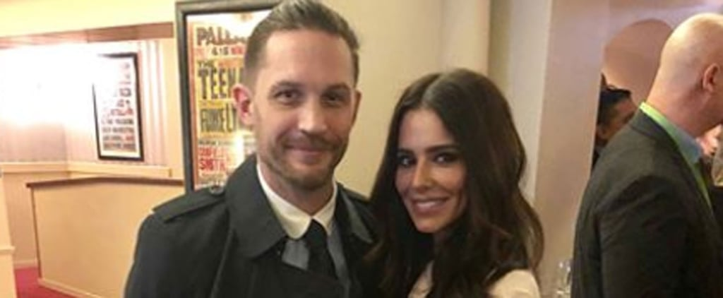 Cheryl Couldn't Resist Getting a Pic With Tom Hardy, Because Have You Seen Him Lately?