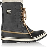 Sorel 1964 Pac Waterproof Suede and Rubber Boots ($130)