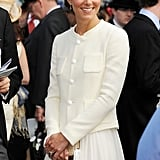 Catherine, Duchess of Cambridge, visited the events in 2011.