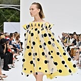 A Polka Dot Gown From the Carolina Herrera Runway at New York Fashion Week