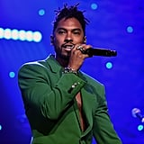 Miguel at Clive Davis's 2020 Pre-Grammy Gala in LA
