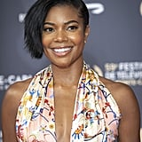 Gabrielle Union's Sideswept Bob in June 2019