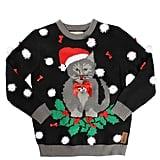 Kitten Wreath Sweater