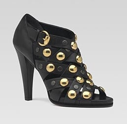 The Look For Less: Gucci Studded Babouska Sandals