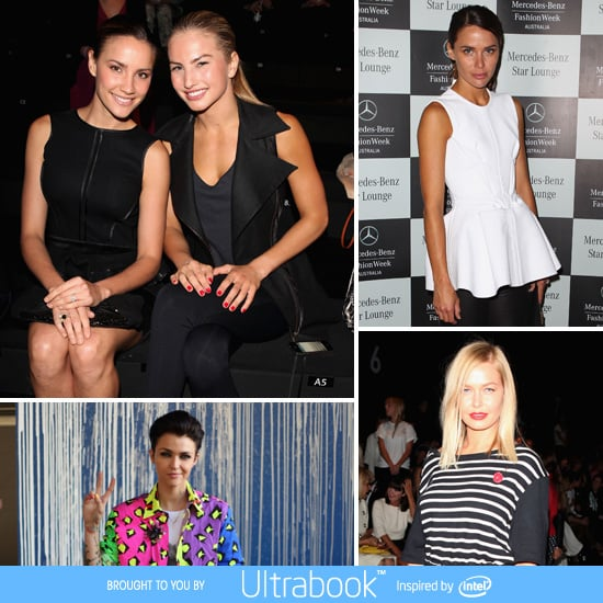 2012 MBFWA: See the Front Row Celebrity Style Day 2!