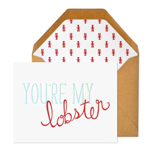 You're my lobster ($6)