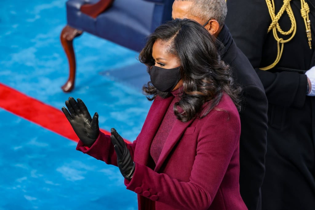 "When Michelle Obama showed up to the inauguration of President Joe Biden on Jan. 20, I fully turned into the heart eyes emoji. Her plum Sergio Hudson suit, the Stuart Weitzman boots, and oh, the curls! The former first lady's bouncy '70s style hair captivated me from the moment she exited the car with her husband. Luckily, Obama's hairstylist Yene Damtew shared some of her wisdom with POPSUGAR, in case you're eager to try out the look at home.  Damtew is the genius behind many of Obama's gorgeous and glossy looks, including this recent inaugural beauty. After working together for more than a decade, Obama fully trusts Damtew to create occasion-appropriate styles, with very little (if any) input from the first lady. ""She trusts me to pick a style that will work and I trust her to allow me some creativity,"" Damtew explained. She collaborates with fashion stylist Meredith Koop and makeup artist Carl Ray from Obama's team to make sure the look flows seamlessly. For Inauguration Day, Damtew knew the hair needed to ""stand out on its own"" and withstand the elements of windy winter conditions. ""I wanted to create a sleek look that would turn heads, but I also wanted a style that would sustain for several hours without me by her side for a quick touch up,"" she said. ""The bigger curls are easier to manipulate and hold very well."" Damtew was kind enough to give us step-by-step insight into how she achieved Obama's look. She started curling with a one-inch barrel iron. (""Yes, you can achieve bigger curls with a smaller barrel."") Next, she used a ""curl set to lock in the curls."" Damtew followed this up with a round brush to ""create body"" and soften the curls. She finished it all off with a feather comb for volume and hair spray for hold. ""This is definitely a look anyone can achieve at home with a little practice and patience,"" she said.  If you're a visual learner, never fear. Damtew replicated Obama's curls on a client on her Instagram page. Go ahead, your curling iron is just waiting for you to warm it up."