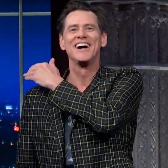 Jim Carrey Re-Creates Movie Roles on Stephen Colbert | Video
