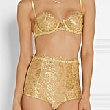 I.D. Sarrieri Rhapsody Metallic Lace Set
