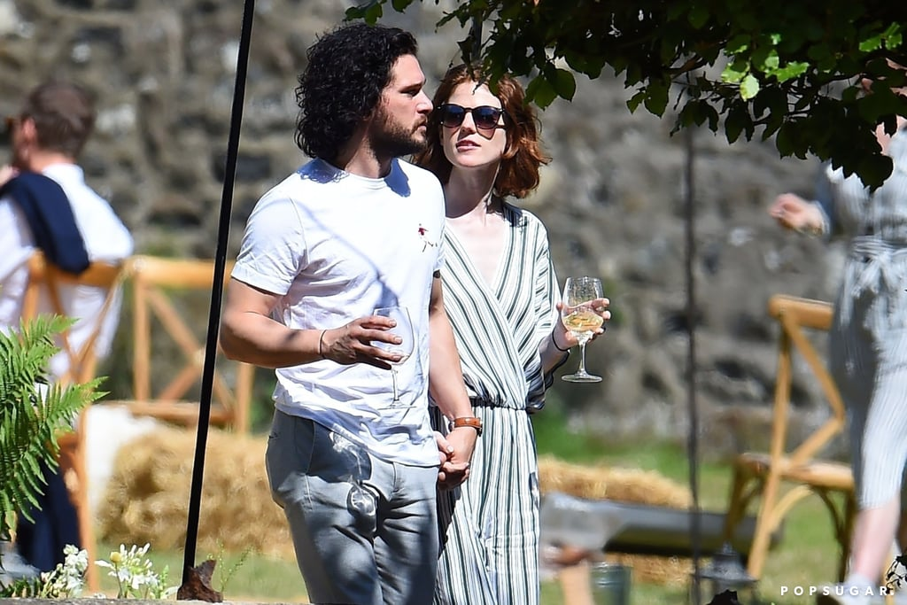 Kit Harington And Rose Leslie Out After Getting Married Popsugar