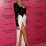November at the 2017 Victoria's Secret Fashion Show Afterparty