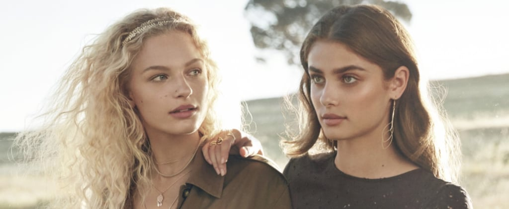 Taylor Hill Stars in H&M's New Spring Campaign