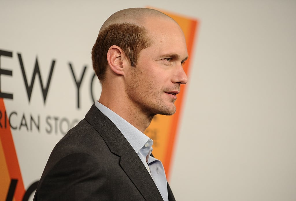 Alexander Skarsgard Bald Head Pictures
