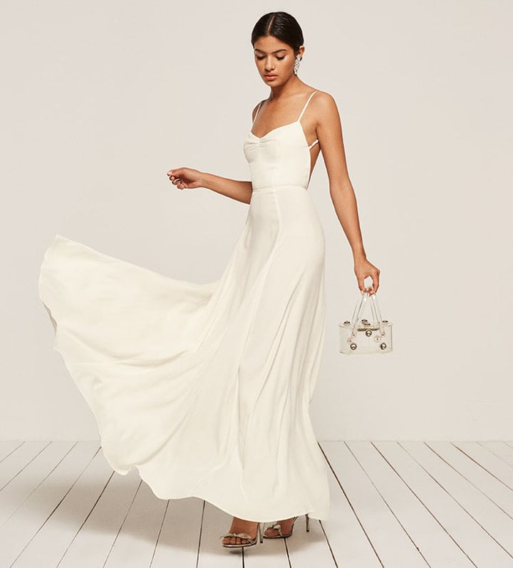 reformation wedding dress reformation thistle dress white bridesmaid dresses 2018 7054
