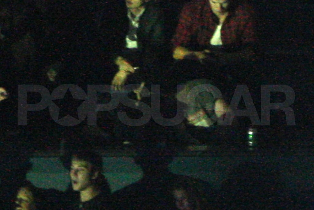 Photos of Robert Pattinson and Kristen Stewart at Kings of Leon Concert