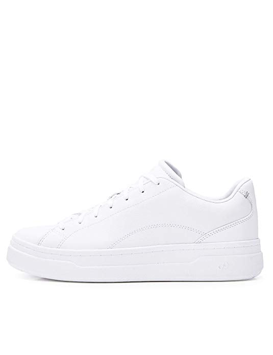 CARE OF by PUMA Leather Platform Low-Top Sneakers | The 9 Perfect ...