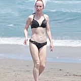 Kathy Griffin Blends In on the Beach in a Skimpy Bikini
