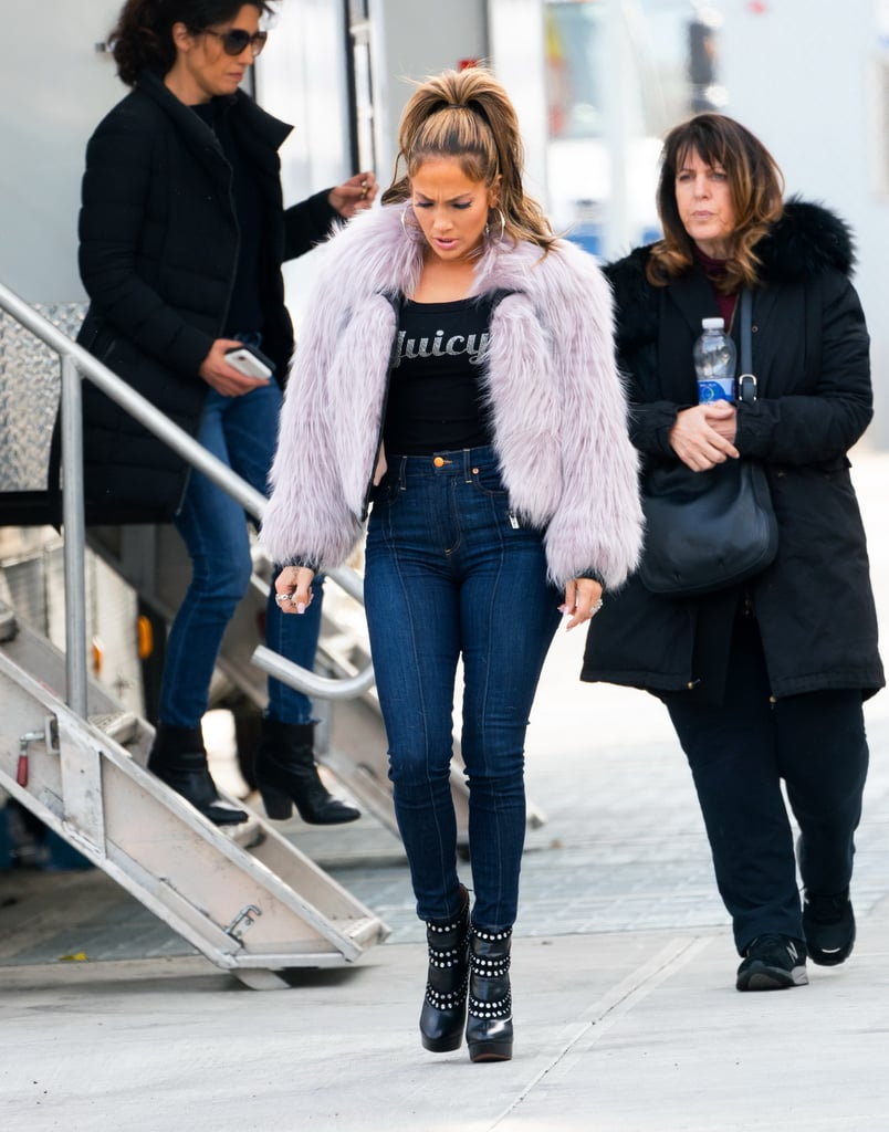 My Middle School Self Is Having a Total Meltdown Over J Lo's Juicy Couture T-Shirt