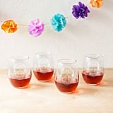 Stemless Wine Glass Set ($65 for set of 4)