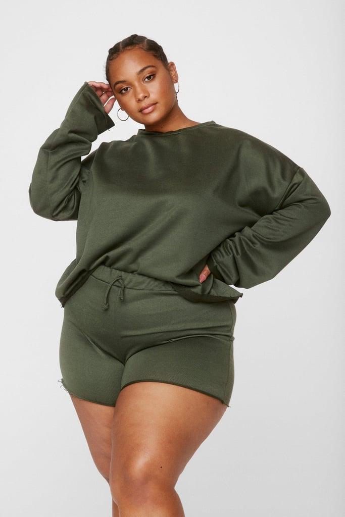 Nasty Gal Relaxed Shorts Loungewear Set