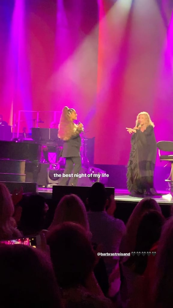 "Ariana Grande Finally Got to Duet With Barbra Streisand: ""The Best Night of My Life"""