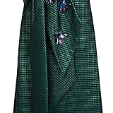 Delpozo Embellished Bow Jacquard Gown