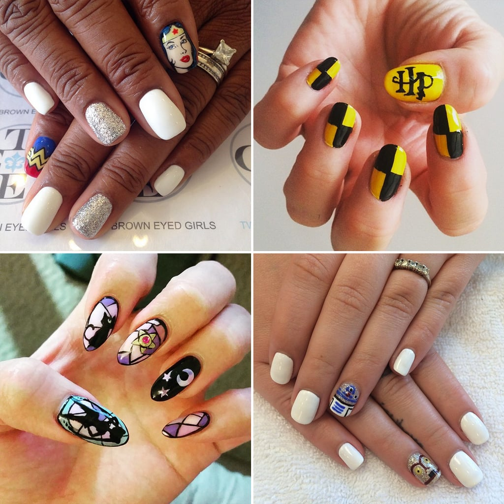 Nerdy Nail Art Ideas | POPSUGAR Tech