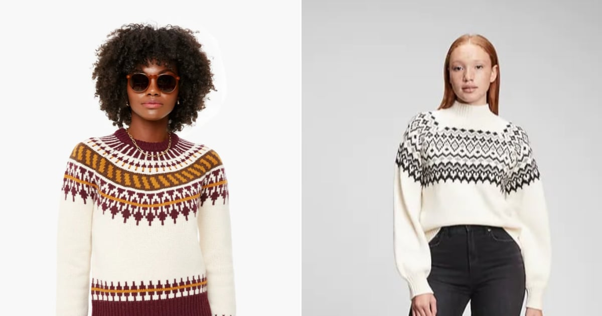 13 Fair Isle Sweaters to Help You Channel Cottage Core Vibes All Winter Long.jpg