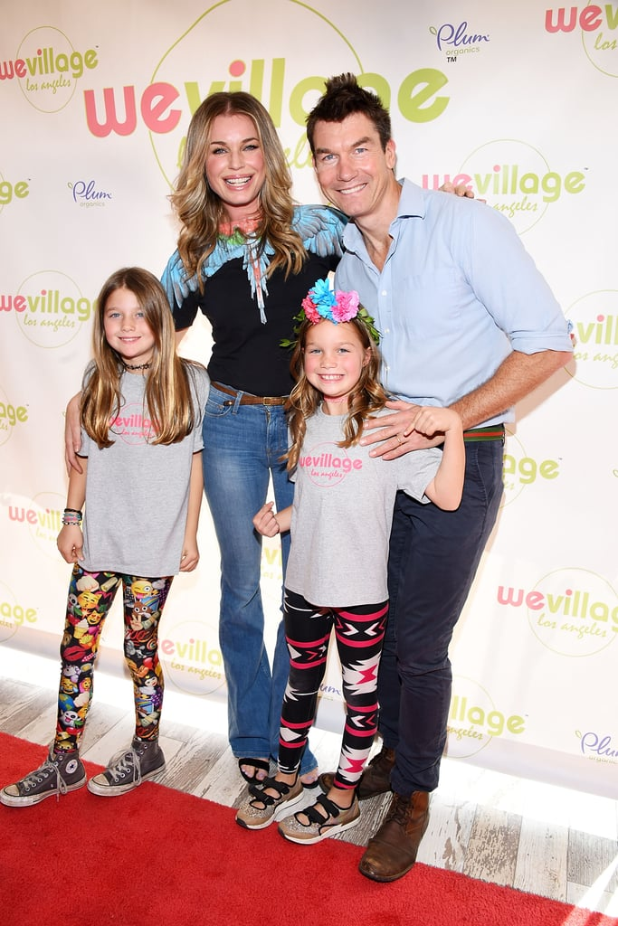 Jerry O'Connell and Family at WeVillage Opening in LA 2017