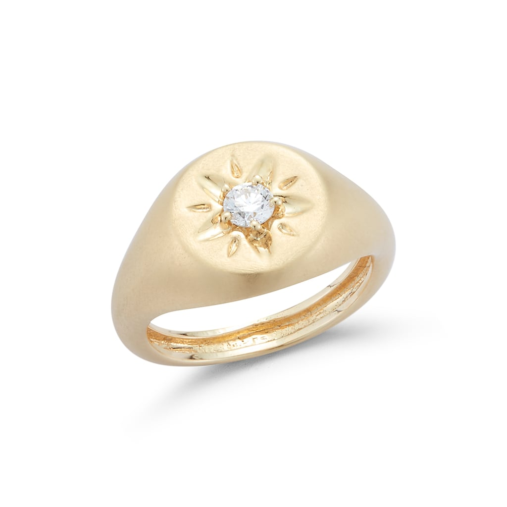 Barbela Diamond Skylar Pinky Ring