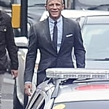 Daniel Craig was on set.