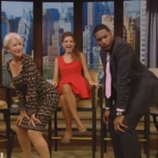 Helen Mirren Twerking With Michael Strahan | Video