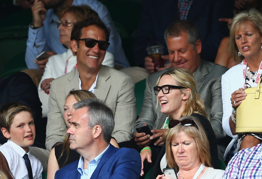 Kate Winslet and Her Daughter at Wimbledon 2015 | Pictures ...