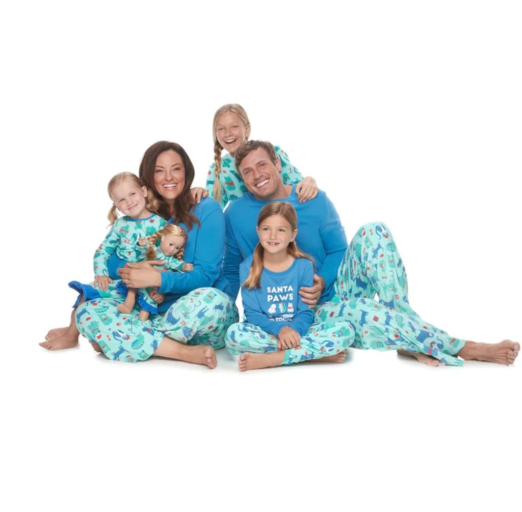 1372cf11946a Jammies For Your Families Santa Paws Matching Pajamas