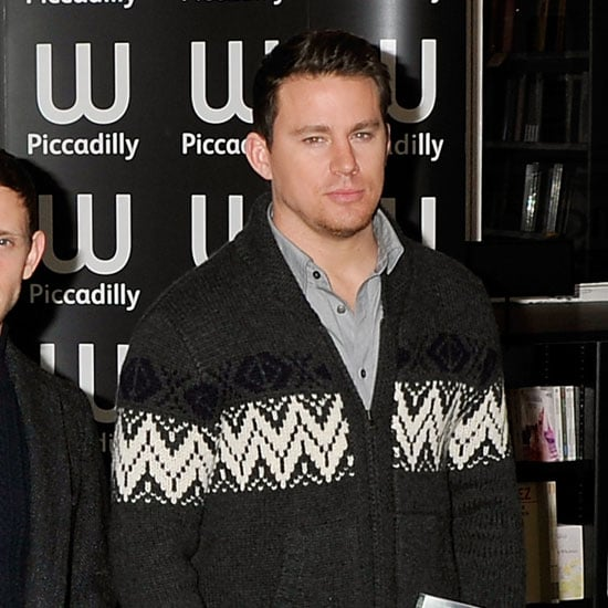 Pictures of Channing Tatum and Jamie Bell Promoting The Eagle in London