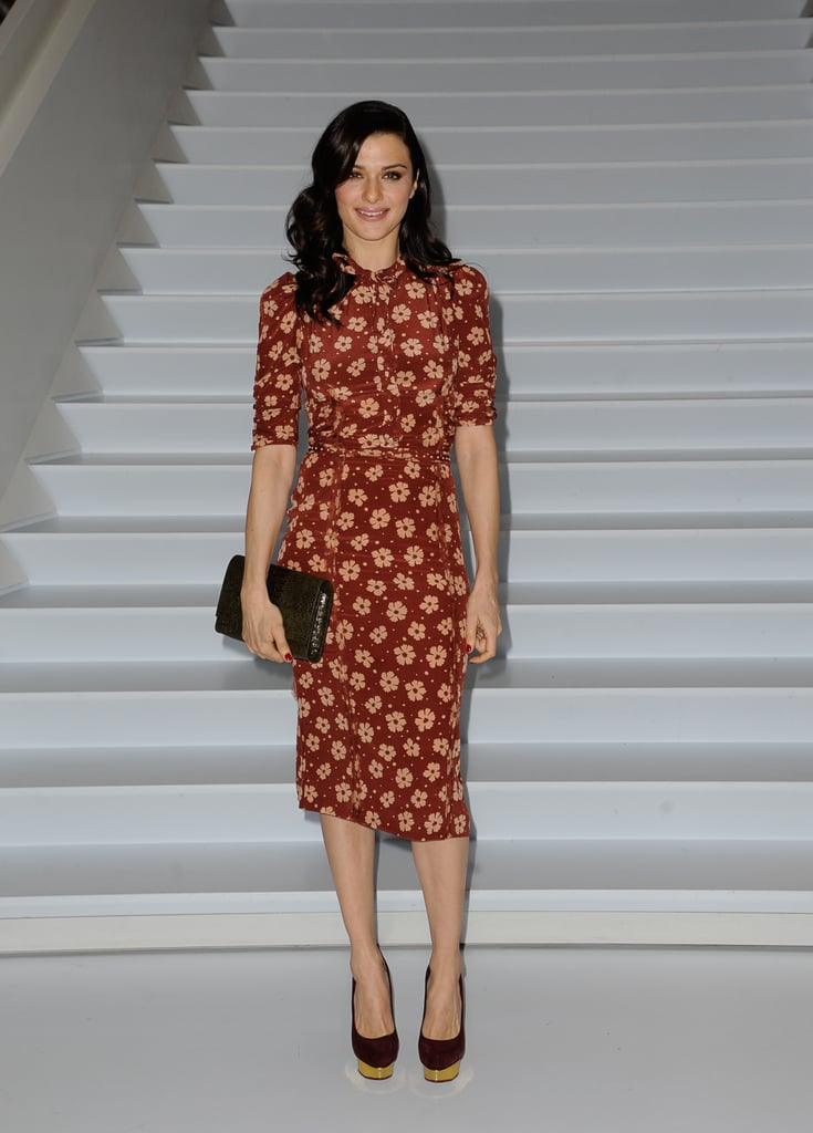 Rachel Weisz was perfection in this Bottega Veneta sheath at a screening of The Deep Blue Sea in NYC.