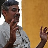 George Clooney Sports a Serious Goatee on His Latest Sudan Trip
