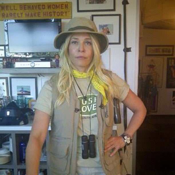 Chelsea Handler geared up for an outdoorsy day. Source: Instagram user chelseahandler