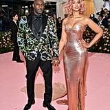 Idris Elba and Sabrina Dhowre, 2019