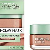 L'Oréal Paris Pure-Clay Mask —Exfoliate and Refine Pores