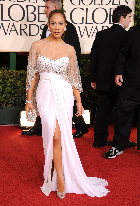 Opting for an elegant Zuhair Murad at the 2011 Golden Globe Awards.