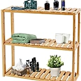 Adjustable Bamboo Shelf Rack