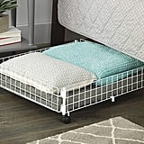 Whitmor Rolling Wire Underbed Cart