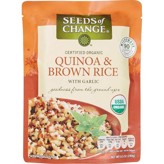 Premade Quinoa or Brown Rice